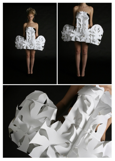 Body Project - Paper Snowflake Dress
